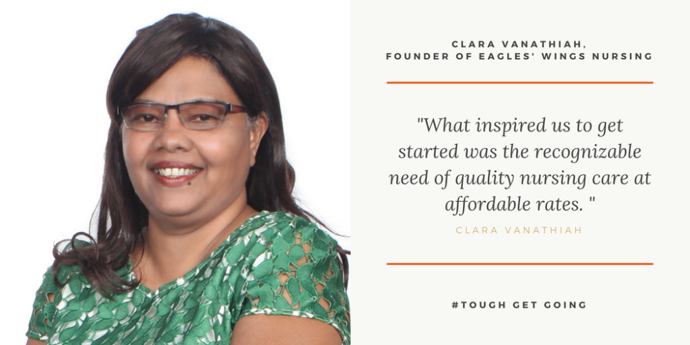 CEO and Co-Founder, Ms Clara Vanathiah